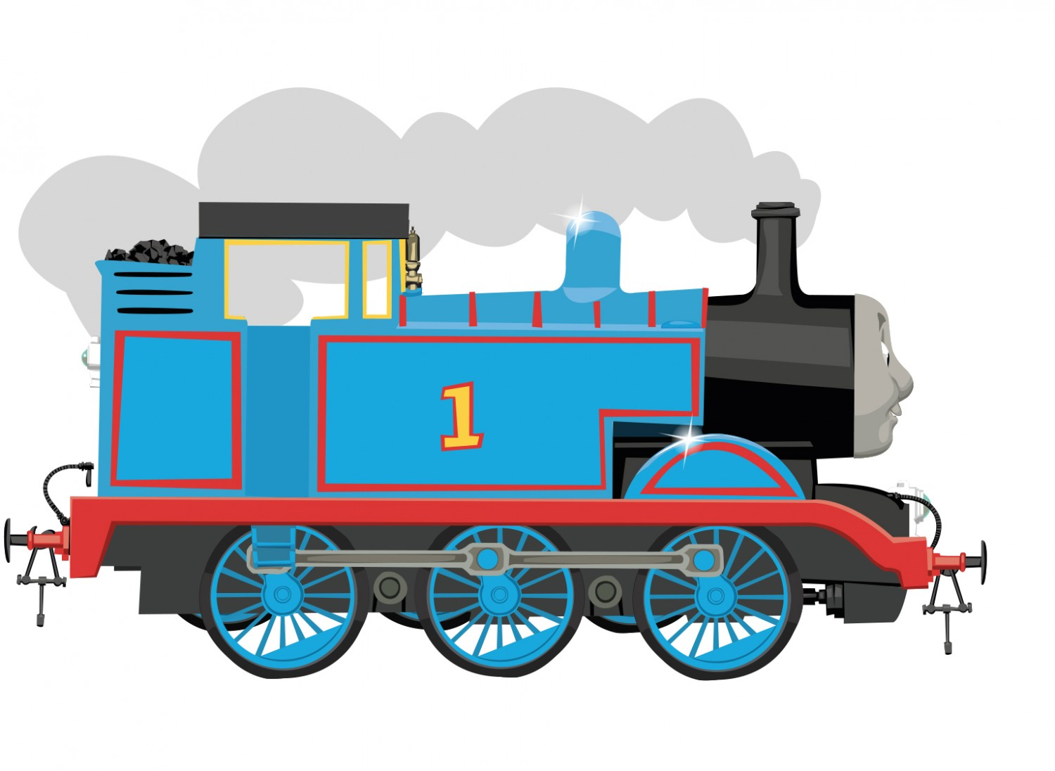 Thomas Side View