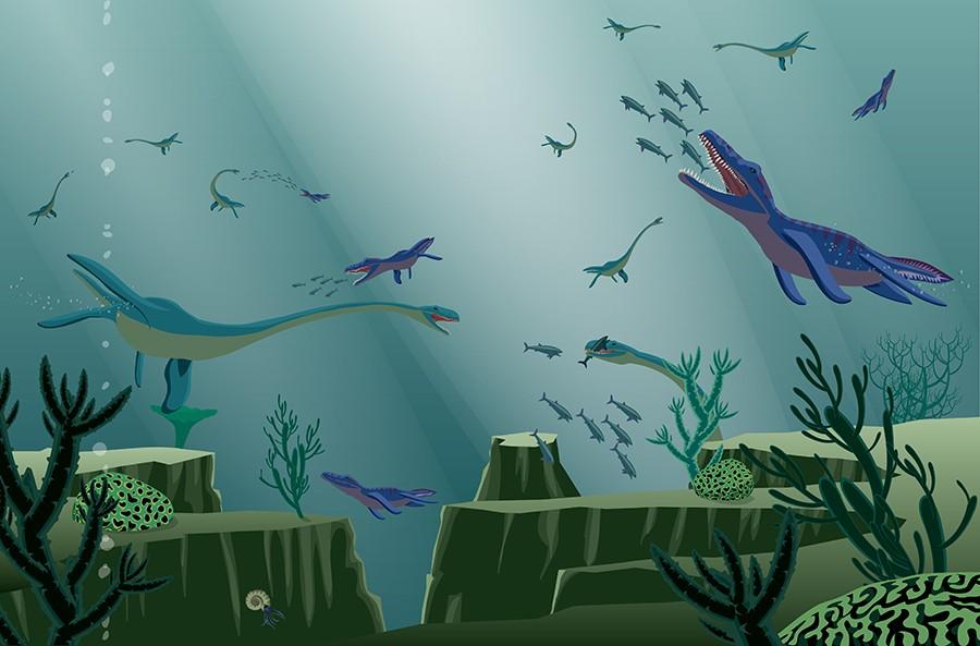 Underwater Dinosaurs