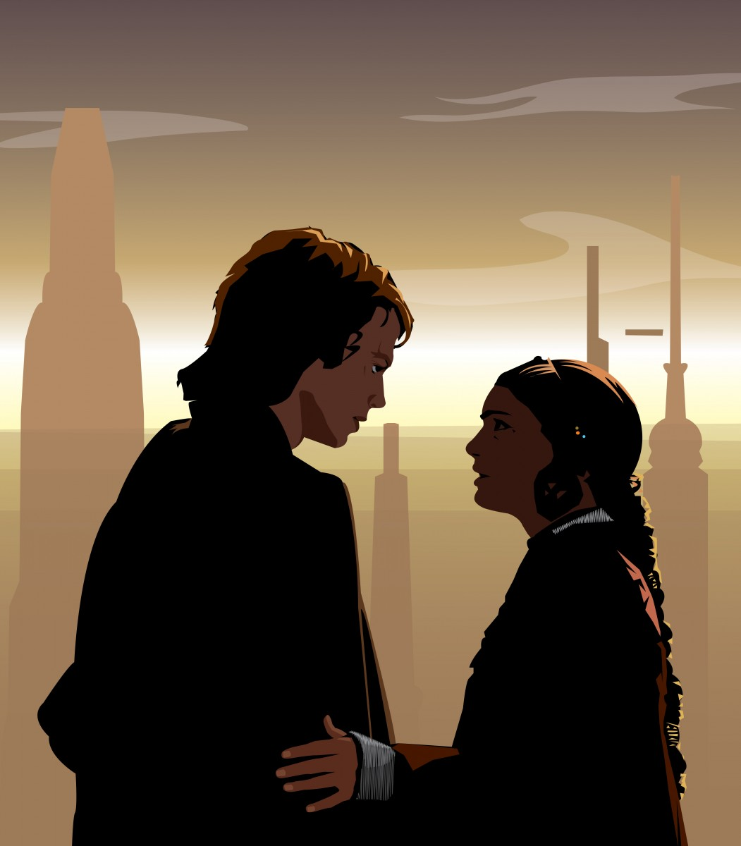 Anakin and Padmé