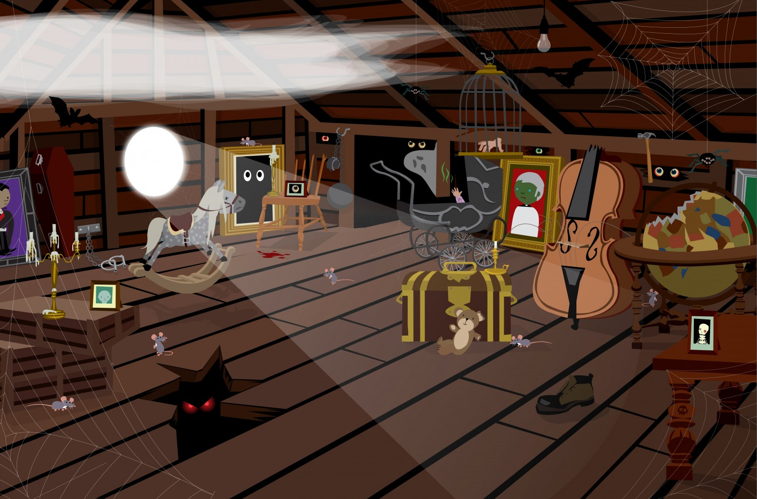 Spooky Attic
