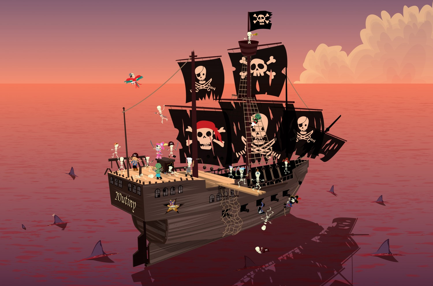 Skeleton Ship
