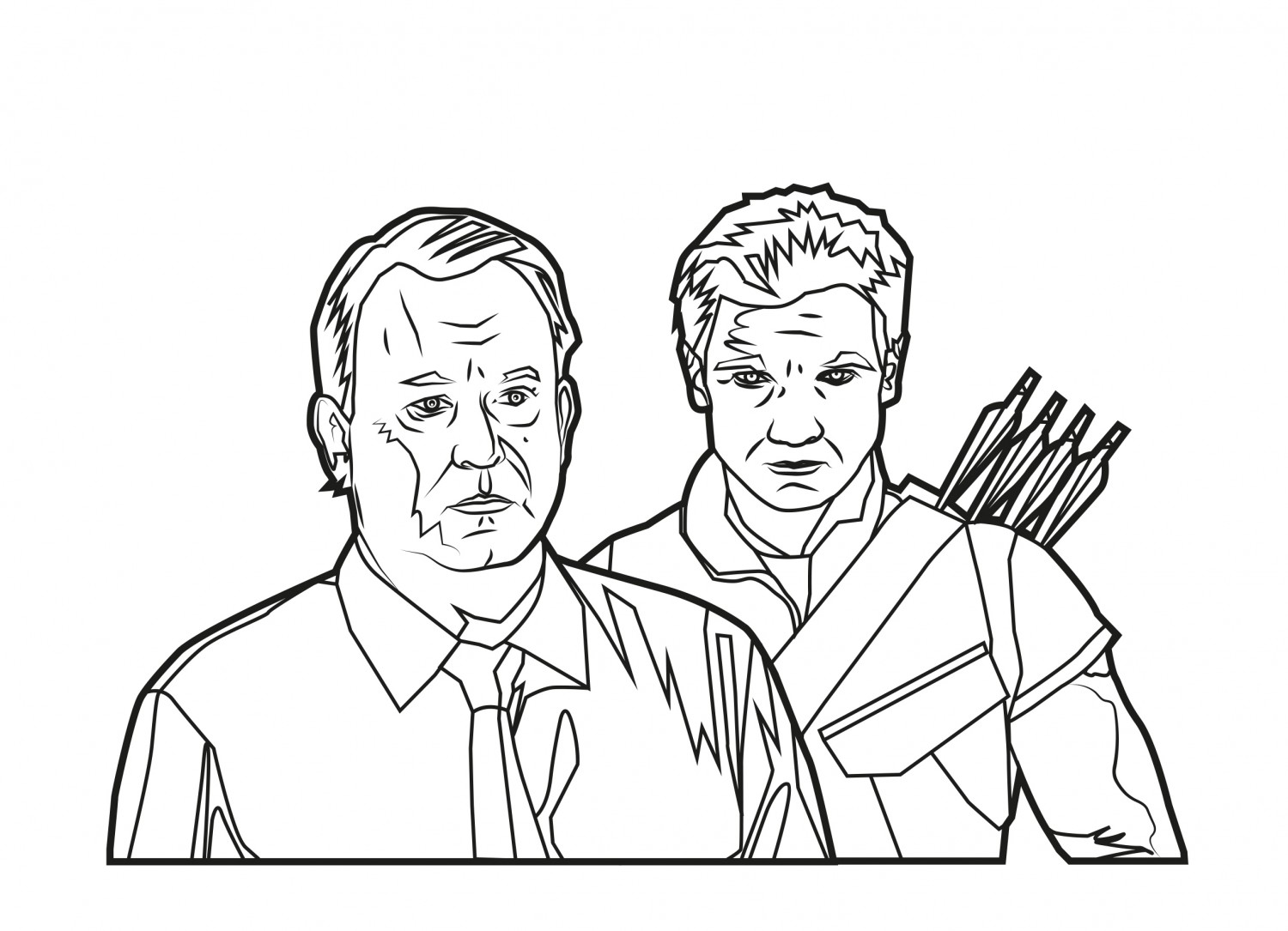 Hawkeye and Dr. Selvig