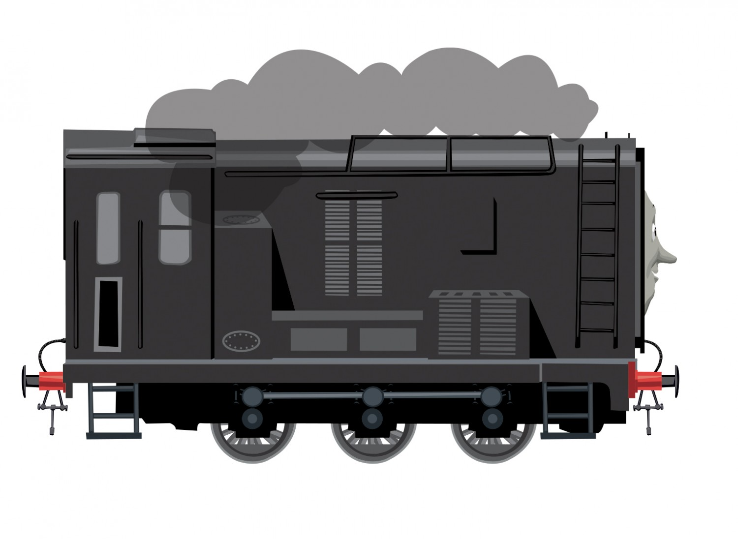 Diesel Side View