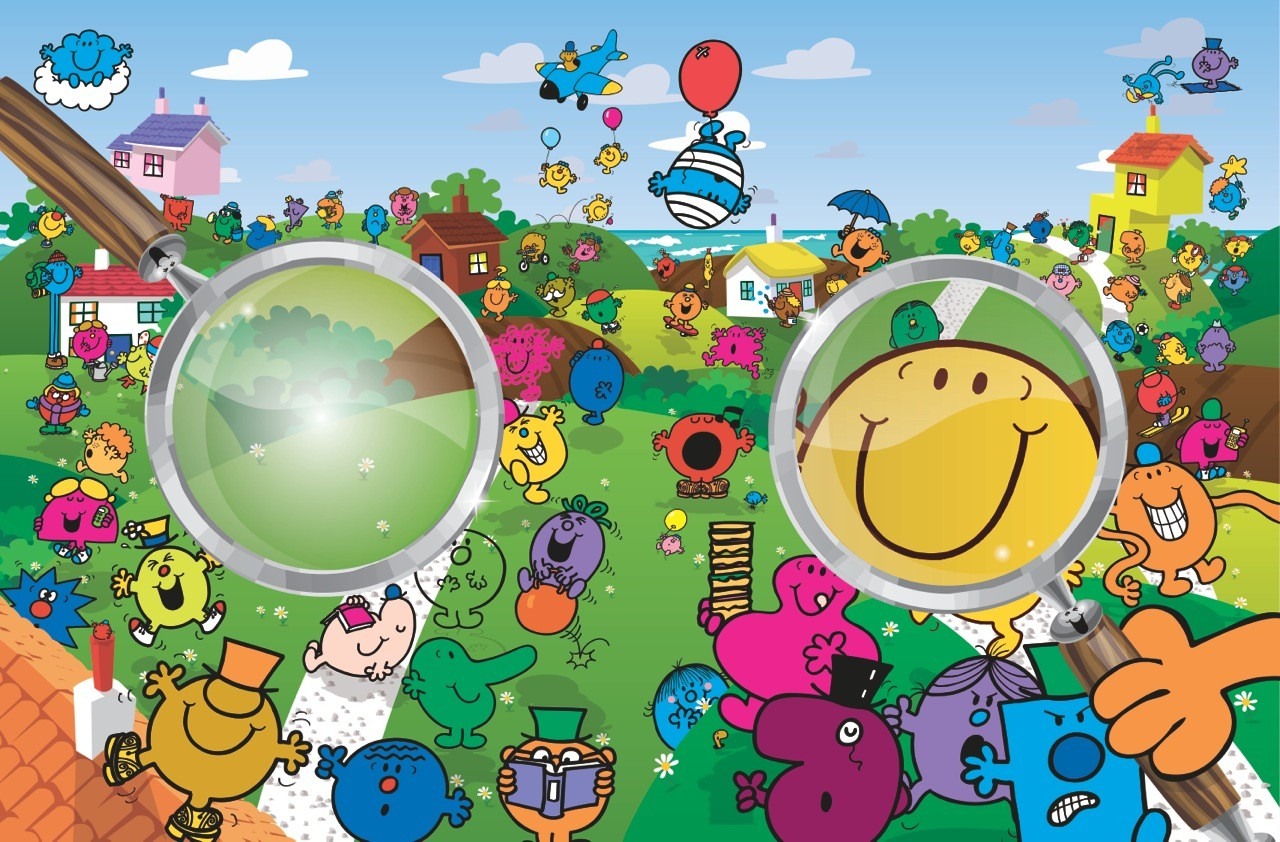 Mr. Men Search and Find