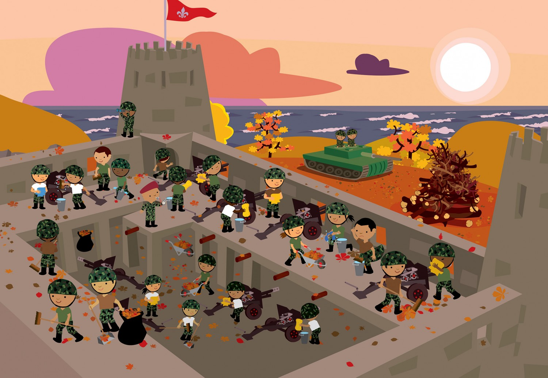Soldiers' Castle