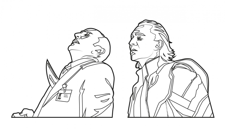 Loki kills Agent Coulson