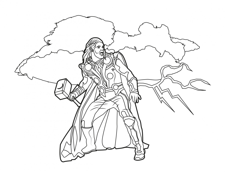 Thor Arrives