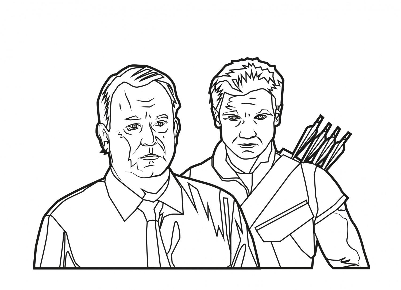 Hawkeye and Dr. Selvig
