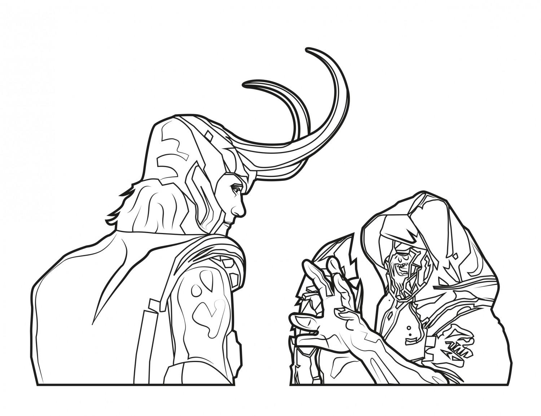 Loki and Chitauri
