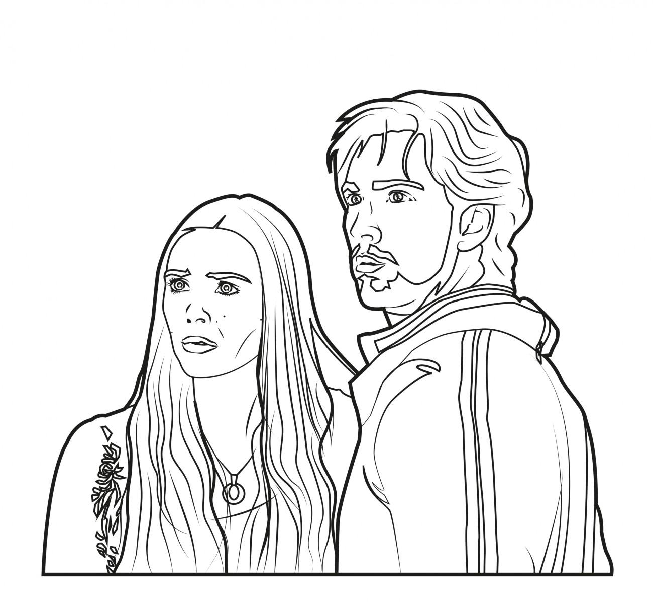 Quicksilver & Scarlet Witch